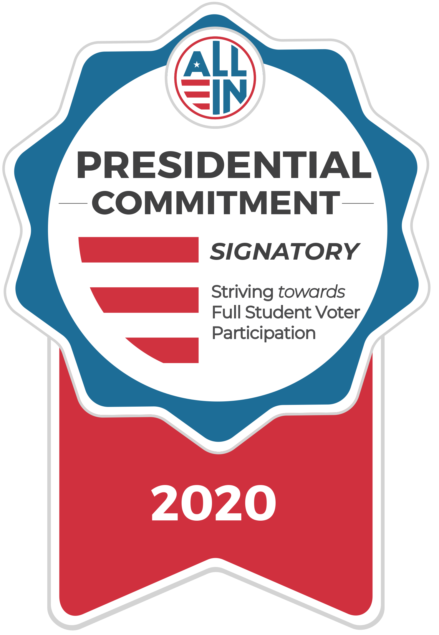 2020 Presidential Commitment Signatory Seal